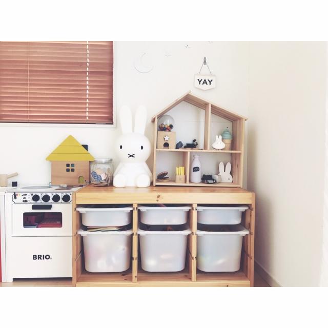「好き」を見せて気分上々♪実用性も兼ね備えた馴染み収納 by makishimakishimaさん