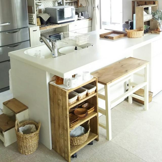 キッチンの収納問題はコレで即解決!楽々できる隙間活用法