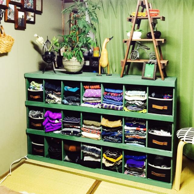 服選びも楽しくなりそう♪スッキリ見える衣類収納方法