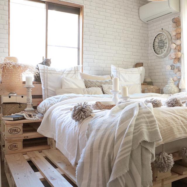 DIYでこんなにできちゃう!あっと驚く夢の手作りベッド