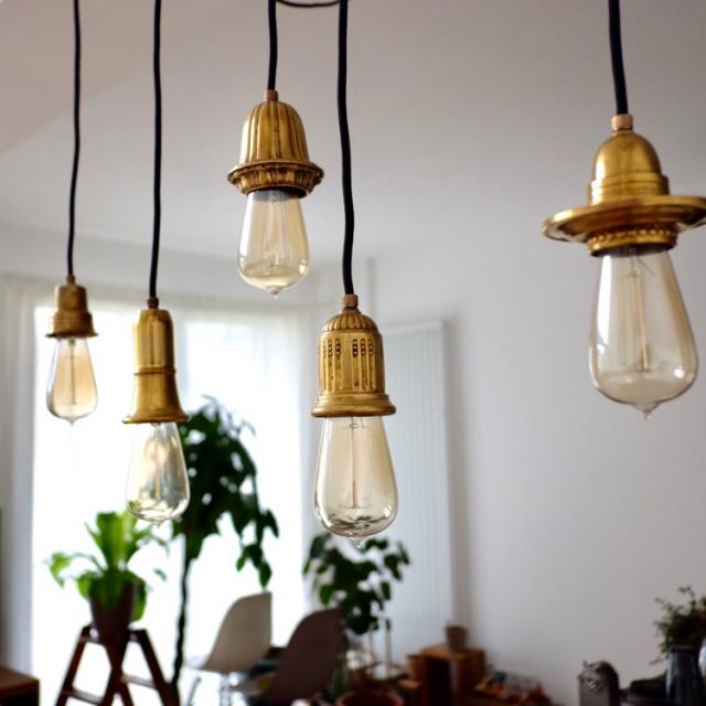 ランプが灯す優しい光☆ランプDIYで明かりのあるお部屋に
