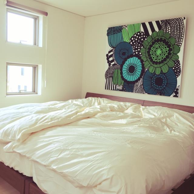 DIYでお家に彩りを!マリメッコで作る華やかインテリア