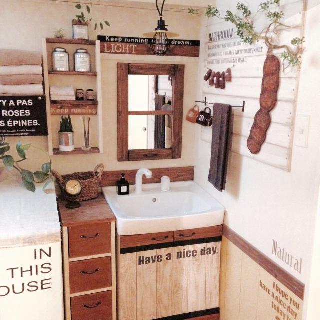 簡単DIYで洗面台をリメイク☆使いやすく明るい場所に