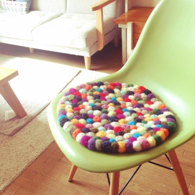 好きな形に作れるのが魅力♡ちくちく楽しむ羊毛フェルト