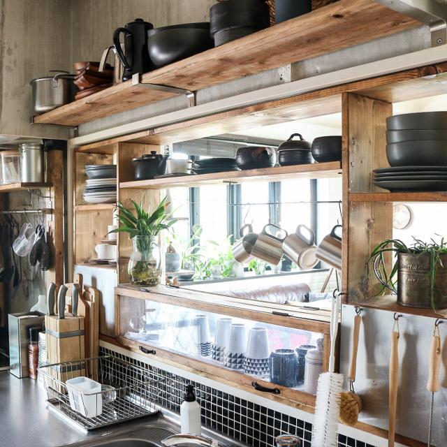 生活感を出さない!キッチン収納のアイディアやコツ大紹介