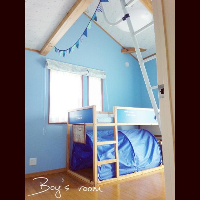 キュートも男前も!IKEAで叶えるステキな子供部屋♪ | RoomClipMag | 暮らしとインテリアのwebマガジン