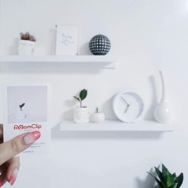 My Shelf,白黒,モノトーン,がんばっぺ福島!,ごま塩系インテリア,塩系インテリアに乗っかる,RoomClip people,恐縮です。。。のインテリア実例 | RoomClip (ルームクリップ)