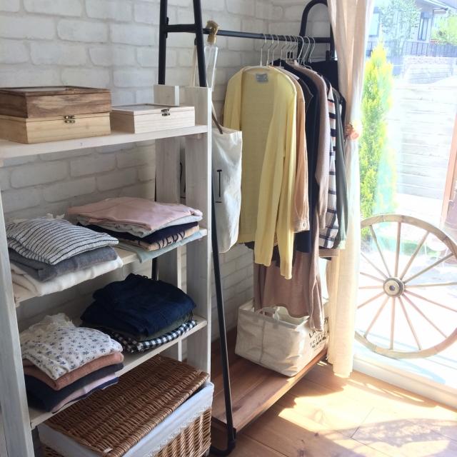 洋服選びが楽しくなる♡これは使える衣類収納アイデア10選