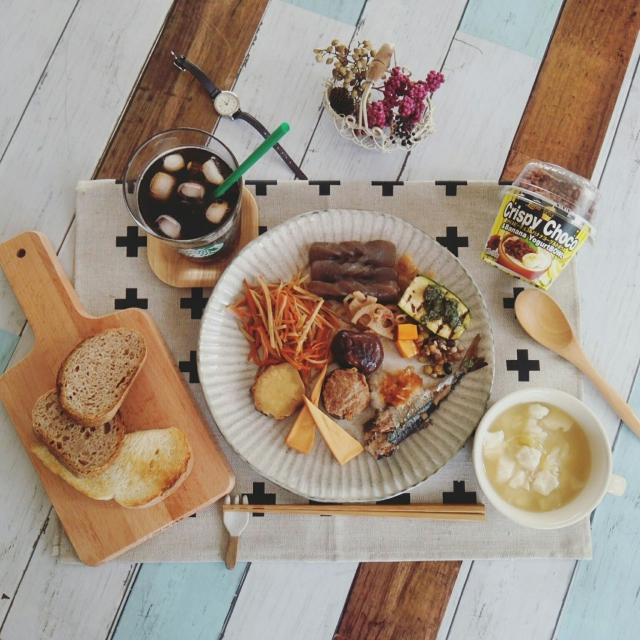 和洋折衷に映える♡ニトリの唐茶削ぎシリーズがある食卓