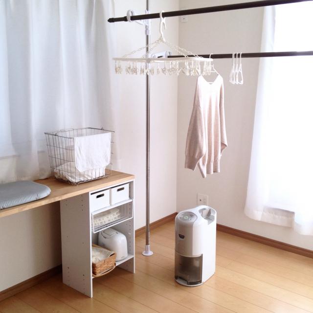 外干し派も部屋干し派も必見♪洗濯物を効率良く干す方法