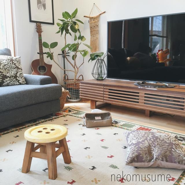 季節が変われば模様替え♡お部屋を彩るニトリのラグ10実例