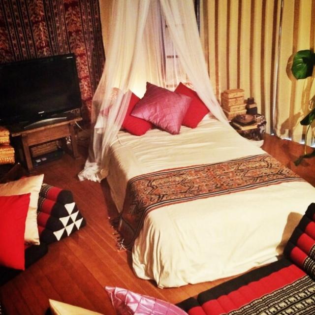 【アジアンテイストなお部屋】リゾートホテルのようなリラックス空間を作るコツ