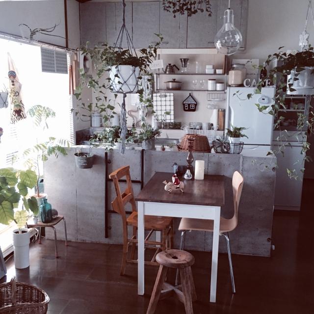 「クール×癒しで作る塩ナチュラル空間」憧れのキッチン vol.85 saokoさん