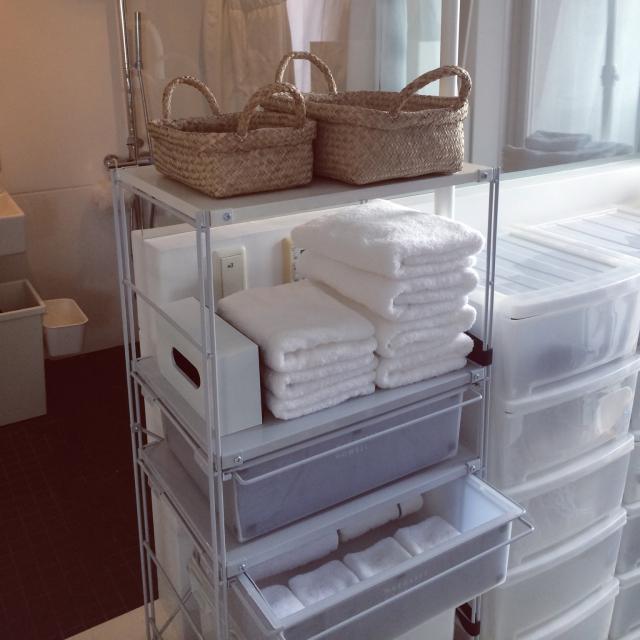 タオルやバスマットを新調して、フレッシュな新生活をスタート! | RoomClipMag | 暮らしとインテリアのwebマガジン