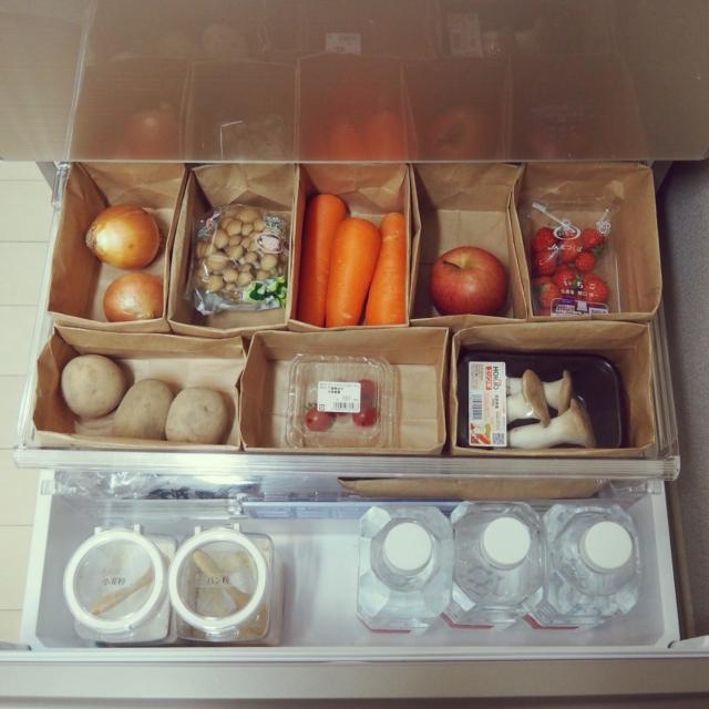 目からウロコ!冷蔵庫のアッと驚く部屋別収納アイデア