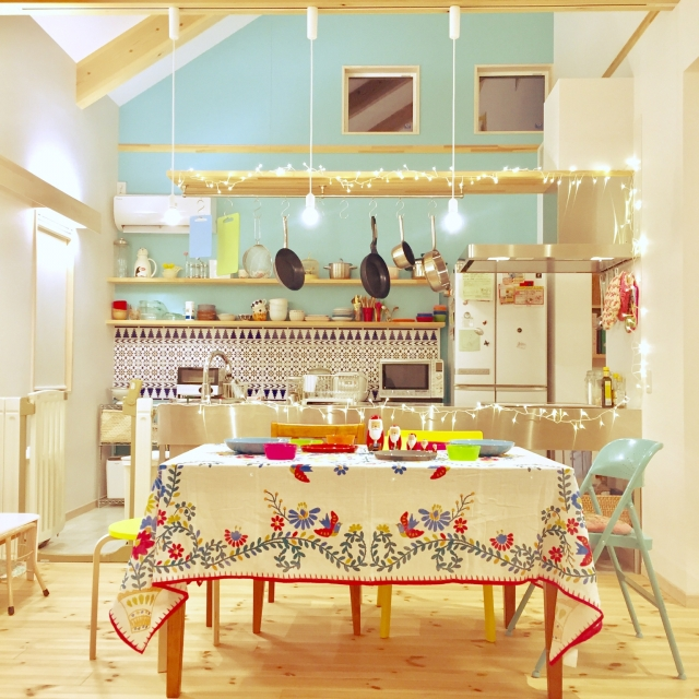 ハッピーを招くカラーレシピ☆毎日が楽しくなる部屋づくり