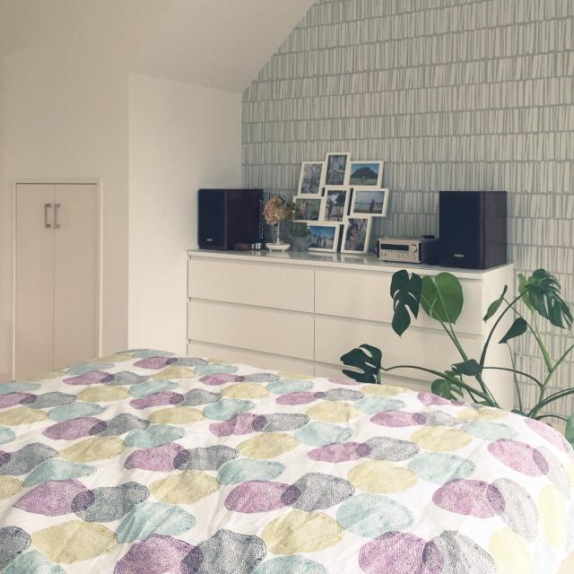 くつろぎの寝室で質の良い睡眠を。憧れの北欧スタイル
