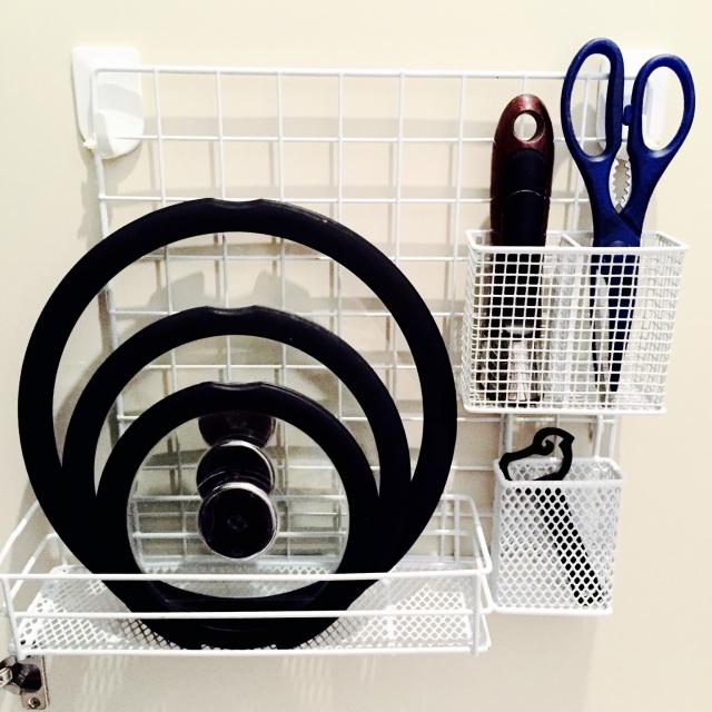 整理&時短!お鍋の蓋の収納を変えてキッチンをスッキリさせよう