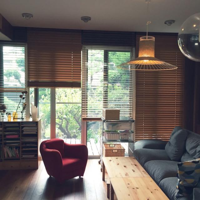 木の素材を使ったアイテムで、ぬくもりを感じるお部屋に♡