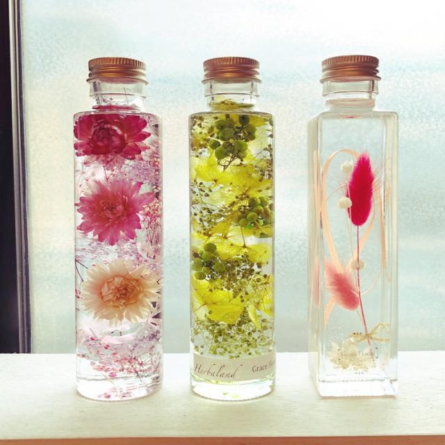 少しの作業でお部屋に魅力をプラス♡瓶を使った簡単DIY