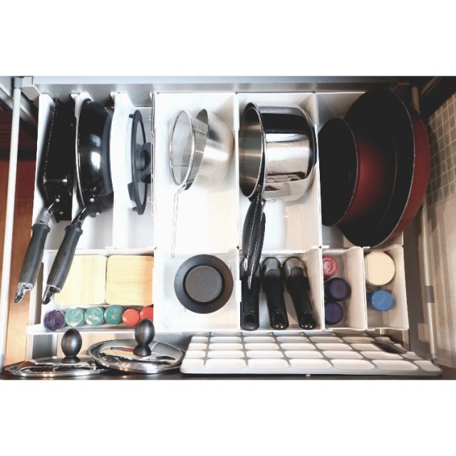 キッチンをきれいに保つ鍵☆シンク下を有効活用する収納術