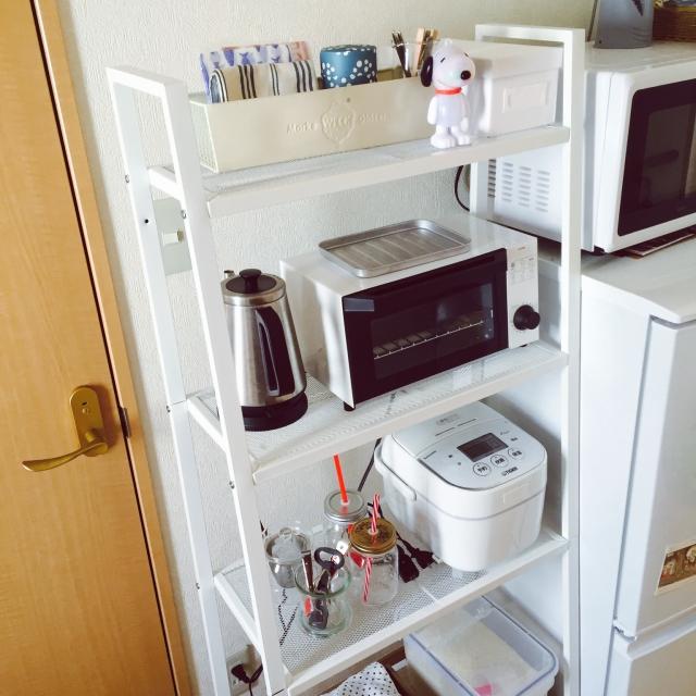 横棚キッチン