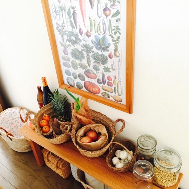 料理の時間をもっと楽しく♪キッチンの見せる収納アイデア