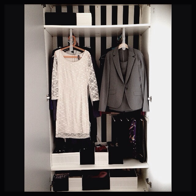 自由度が高くて便利♪IKEAや無印良品アイテムの洋服収納実例
