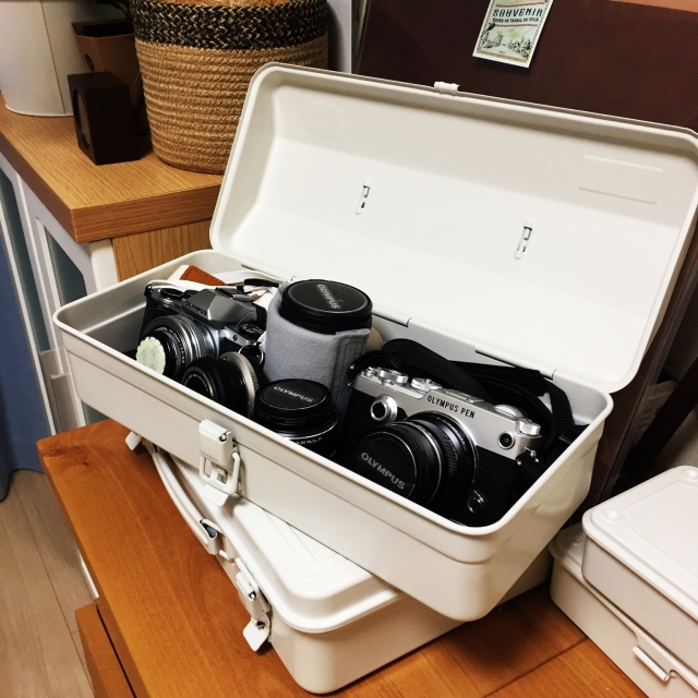 これ便利!無印良品のスチール工具箱&キャリーボックス