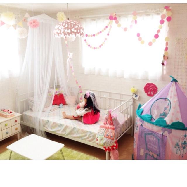 プリンセスのキッズルーム♡女の子の子供部屋には魔法がいっぱい!