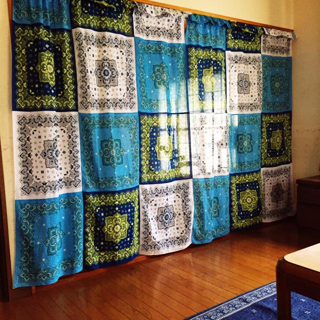 自分色のカーテンで、毎日を楽しく☆ハンドメイドカーテン