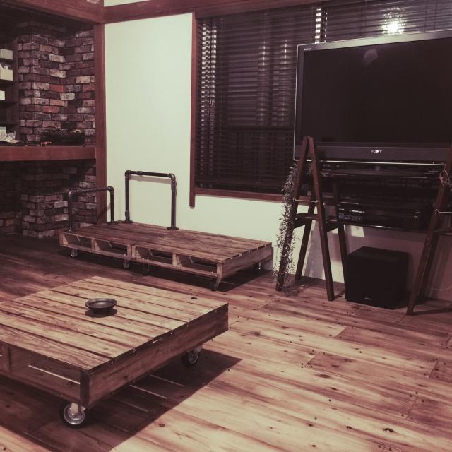 ウッドプロ(WOODPRO)の足場板でこだわりの一品をDIY! | RoomClipMag | 暮らしとインテリアのwebマガジン