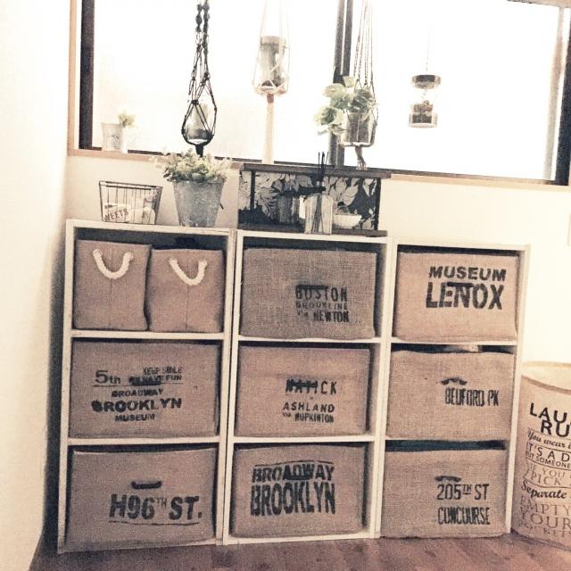 カラーボックスにスッキリ収納♪「収納ボックス」実例 | RoomClipMag | 暮らしとインテリアのwebマガジン
