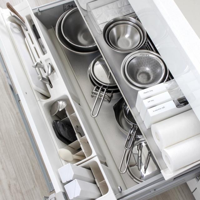 家事の効率もアップする!?キッチンの引き出し整理収納術