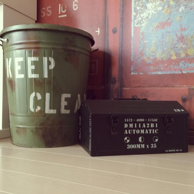 普段使っているゴミ箱を簡単リメイクしておしゃれに飾ろう!