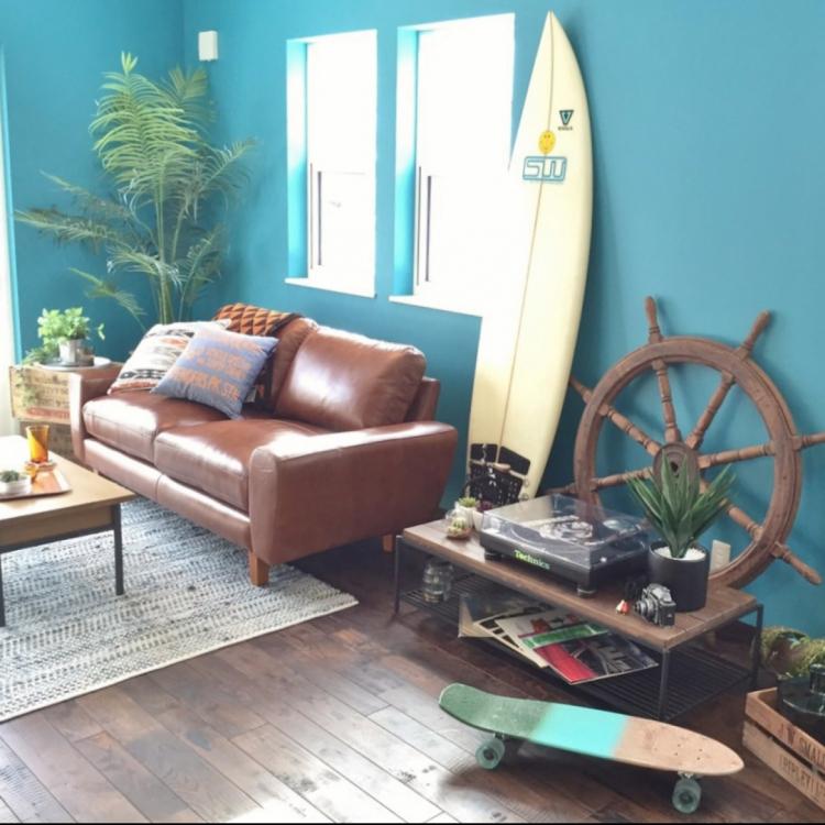 サーフ系スローインテリアで一足早く夏を楽しもう! | RoomClip mag | 暮らしとインテリアのwebマガジン