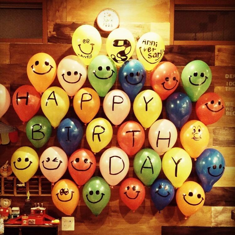 わが子の誕生日を全力で祝いたい!お部屋の飾り付け実例♪