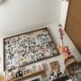 Lounge/広松木工/無印良品 壁に付けられる家具に関連する部屋のインテリア実例