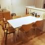 Lounge/無印良品/ダイニング/ダイニングテーブル/セブンチェア/北欧雑貨/artek/広松木工/ドムスチェア/Stool E60/無印 デスクに関連する部屋のインテリア実例