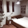 Bedroom/無印良品/DIY/ニトリ/おやすみなさい♡/壁紙屋本舗さんに関連する部屋のインテリア実例