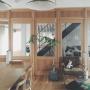 Overview/照明/北欧/シンプル/ミナペルホネン/北欧インテリア/真鍮/トラックファニチャー/TRUCK/TRUCK FUNITURE/mina perhonen/minaperhonen/フレイム照明/フレイム/植物のある暮らしに関連する部屋のインテリア実例