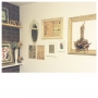 Overview/アンティーク/ドライフラワー/シャビーシック/ブーケ/フレンチ/今の家/額縁ディスプレイ/白がすきに関連する部屋のインテリア実例