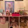 My Shelf/キャンドル/アクセサリー/雑貨/ハンドメイド/ディズニー/絵本/ドライフラワー/アイシャドウに関連する部屋のインテリア実例