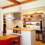 Kitchen/観葉植物/照明/100均/DANSK/ストッケ/PH5/野田琺瑯ケトル/かまどさんに関連する部屋のインテリア実例