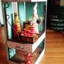 My Shelf/ダイソー/エスニック/ソープ/マトリョーシカ/海外みやげ/ミニチュア/リメイク/セリア/エアプランツ/アラビアン/ロシア雑貨/ブラケット/りめ缶/ドバイ/スモーキーグリーンに関連する部屋のインテリア実例
