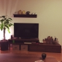 Overview/観葉植物/無印良品/照明/一人暮らし/セリアに関連する部屋のインテリア実例
