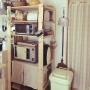 女性で、3LDK、家族住まいの雑貨/フェイクグリーン/100均/無印良品/IKEA/Kitchen…などについてのインテリア実例を紹介。