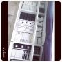 My Shelf/IKEA/イケア/収納/100均/ラベル/シンプル/モノトーン/ニッセン/Daiso/nissen/マイホーム/MONOTONE/整理収納部/目指すは見せられる収納/Instagram→m_m_homeに関連する部屋のインテリア実例