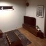 Lounge/照明/窓/ポスター/植物/ドライフラワー/ニトリ/エアプランツに関連する部屋のインテリア実例