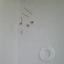 Bedroom/モビール/ペーパーリース/北欧暮らしの道具店/よしおかれいに関連する部屋のインテリア実例